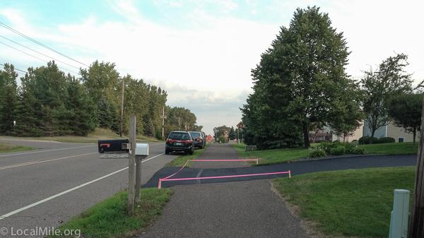 MUP, Bike Path, Interrupted