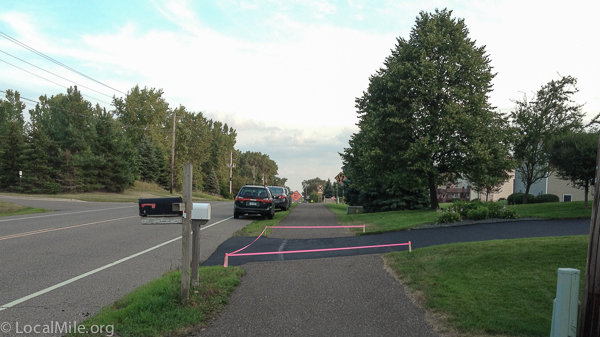 MUP, Bike Path, Interrupted