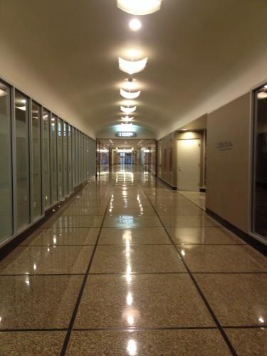 Baker Center Hallway