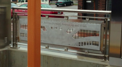 Public Art at the Dale St. Green Line LRT Station