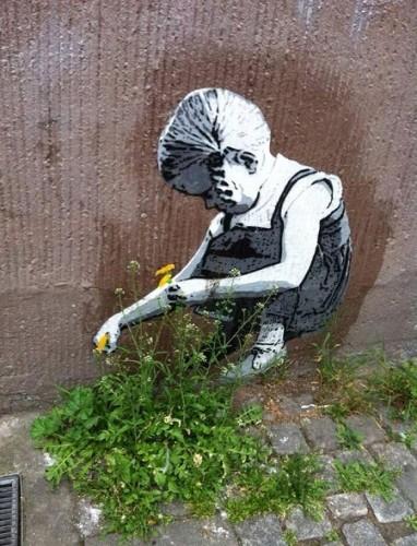 pigtailed gardener