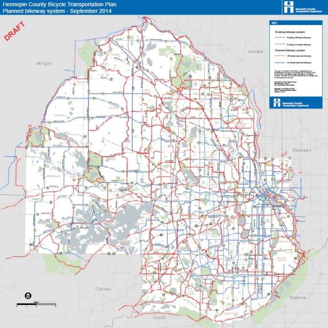 2040 bikeway system (Bike Plan p. 36)