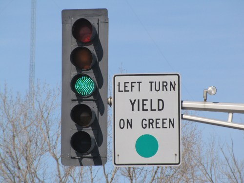 Typical protected / pemissive signal as used in Minnesota