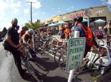 SLC bike corral