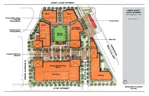 Alternative Ground Level Plan Option - CKLN