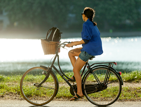 Summer isn't too far away (Photo: Copenhagencyclechic.com)