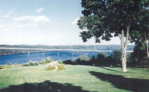 Rendering of the 1995 design from the scenic overlook.