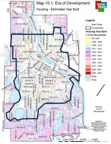 How Minneapolis grew
