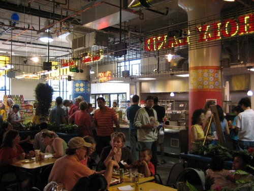 Midtown Global Market on opening day 2006 (it looks fundamentally the same today)