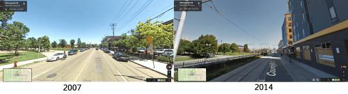 Washington Avenue transformation