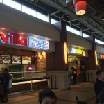 The food court has a wide variety of specialty vendors