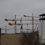 Downtown East Cranes