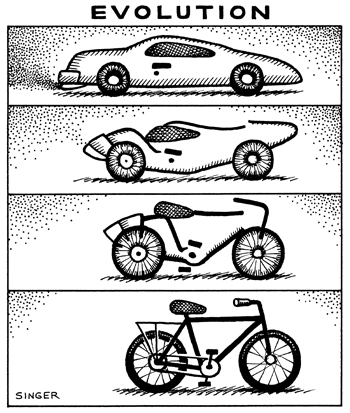 (No Exit) Evolution (Car to Bicycle)