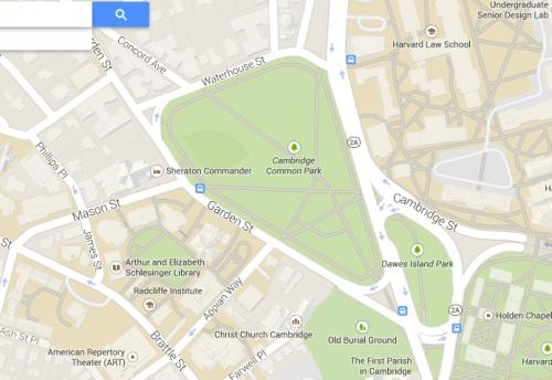 Cambridge Common, Cambridge, Massachusetts