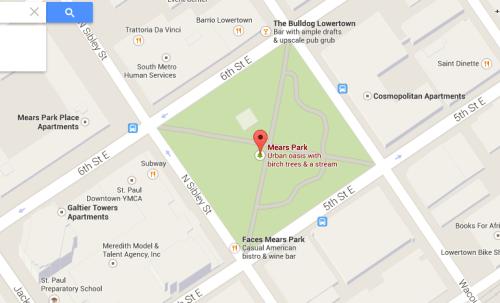 Mears Park, St. Paul