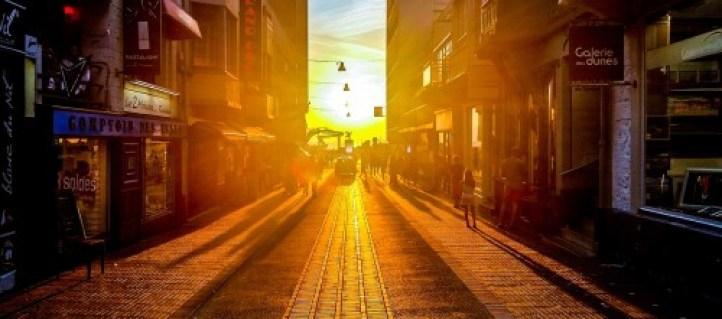 Street Scene Dusk