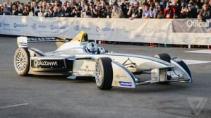 Spark-Renault all electric Formula E race car. (Photo: SBNation.com)