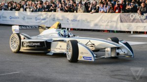 Spark-Renault all electric Formula E race car. (Photo: SBNation.com)