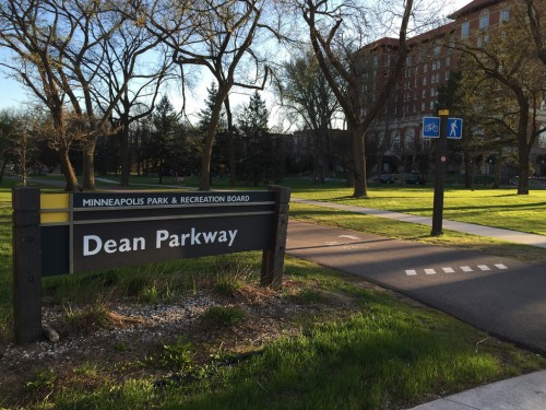 Dean Parkway sign