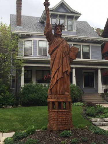 Lady Liberty in Crocus Hill