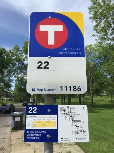 New Metro Transit Signage