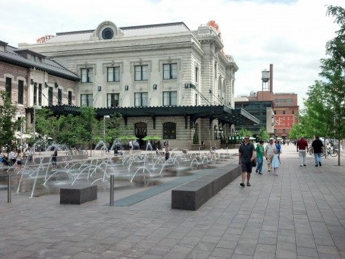 The Public Realm Around Denver Union Station is a Valuable Addition to the City