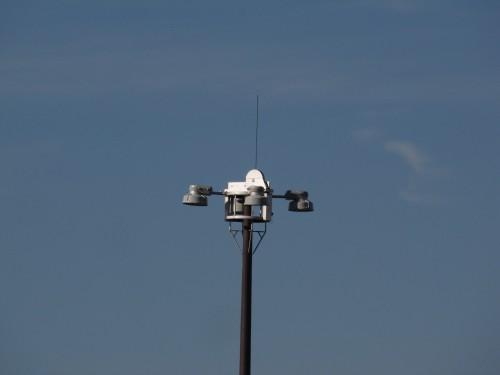 High Mast LED test setup, US 61 and I-494.