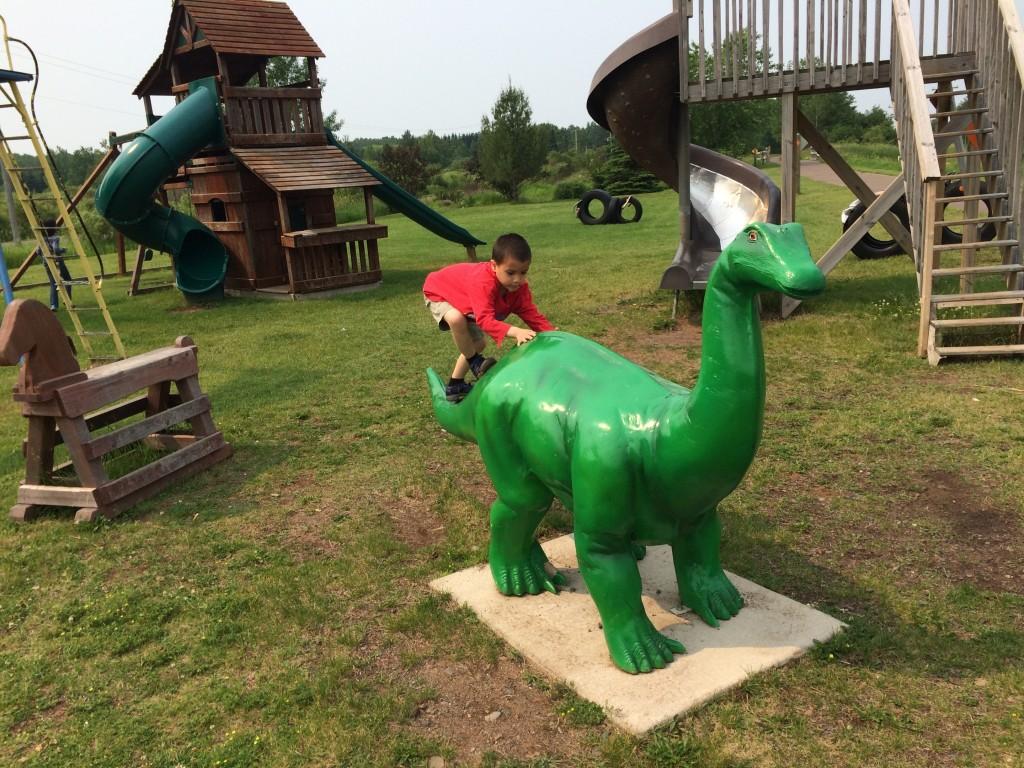 Playground at Munger Trail in Mahtowa