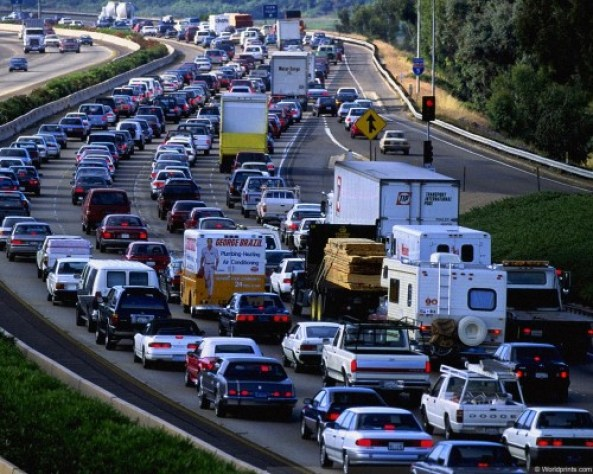 I love driving. Sitting in traffic not so much. Photo: