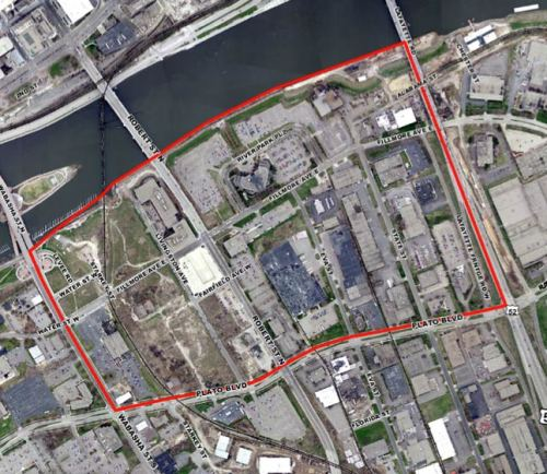 West Side Flats area