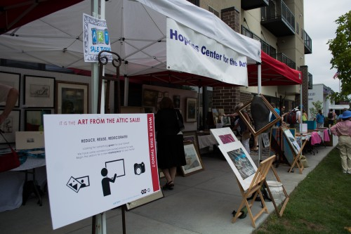 The Hopkins Center for the Arts hosted a donated arts sale fundraiser. / Credit: James Warden