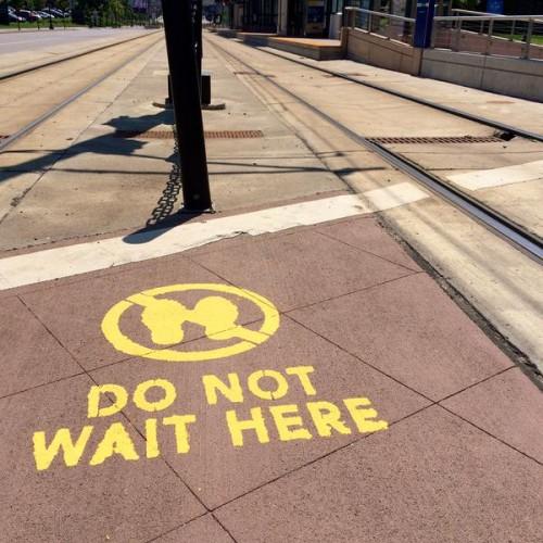 Do Not Wait Here