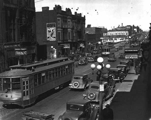 Hennepin Avenue NE, circa 1935. Source - northeastminneapolis.com