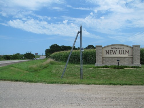 Entering New Ulm