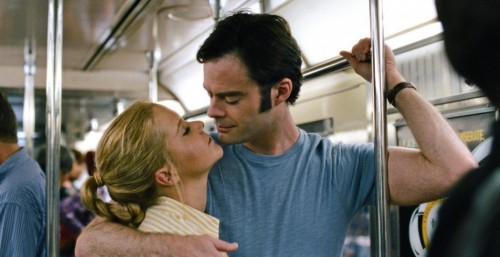 They could gaze into each other's eyes longer if financial pressures hadn't cut two stations at the end of the line. (Universal Pictures)