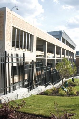 Metropolitan State University's new parking ramp