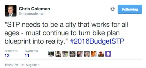mayor-coleman-tweet-bikes