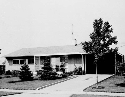 1951 Levittown house