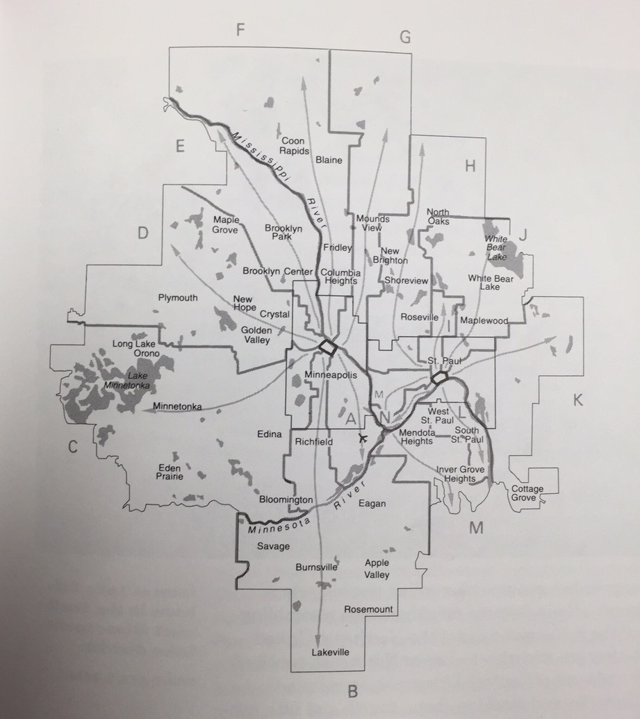 Metro Sector Map