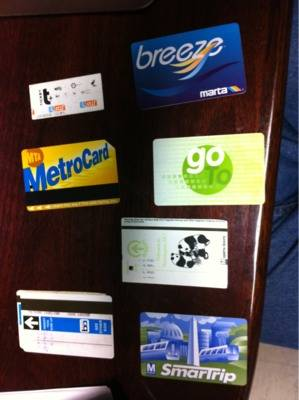 fare cards