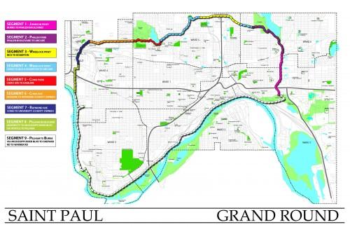St. Paul Grand Round scheme
