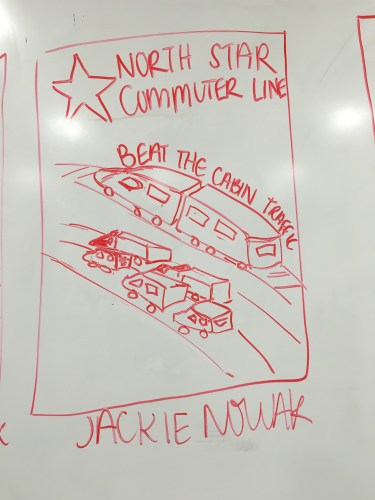 Northstar Commuter Line, Beat the Cabin Traffic (Jackie Nowak)