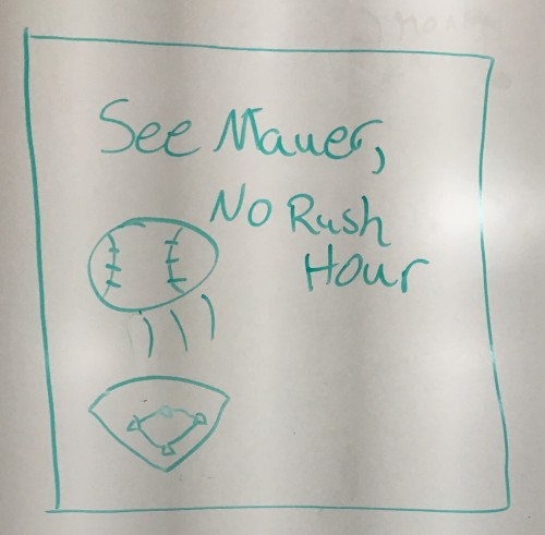 See Mauer: No Rush Hour (Ben Manibog)