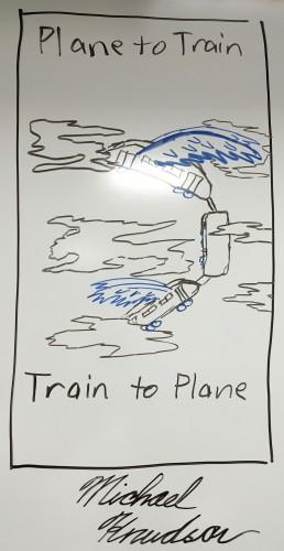 Plane to Train, Train to Plane (Michael Knudson)