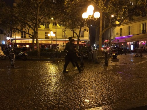 Place de la Contrescarpe, a lovely urban place, day and night