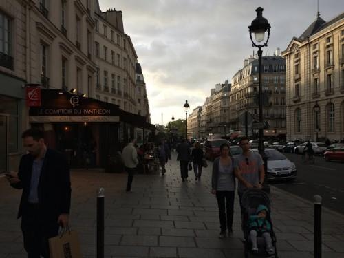 Paris Sidewalk