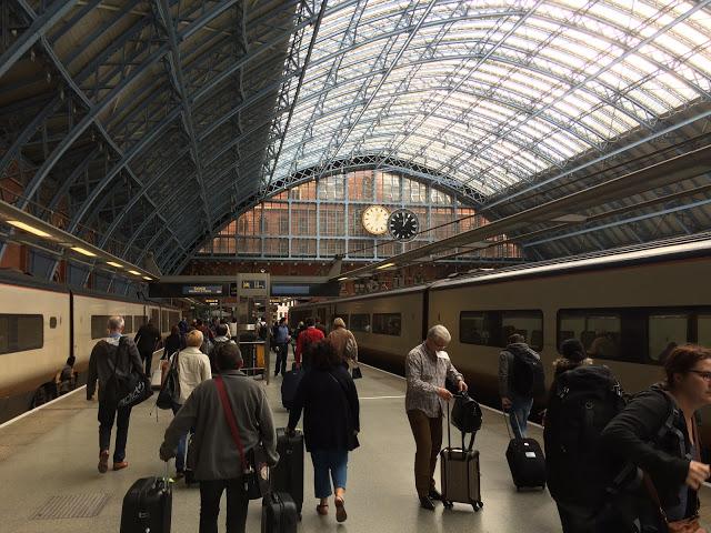 London St. Pancras Station