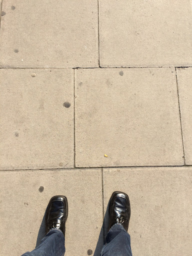 London Sidewalk
