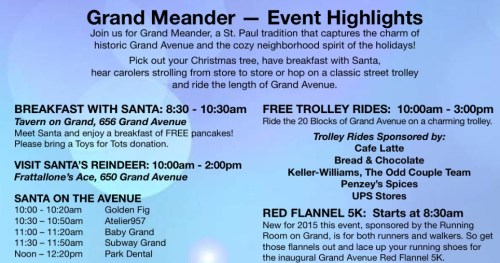 Grand Meander Event Highlights from the official event flyer