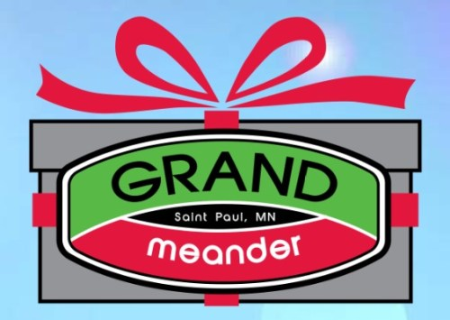 Grand Meander logo from official event flyer